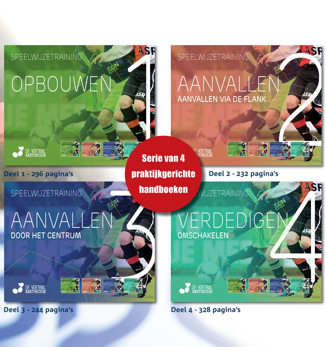Serie de Voetbalmethode boekenset