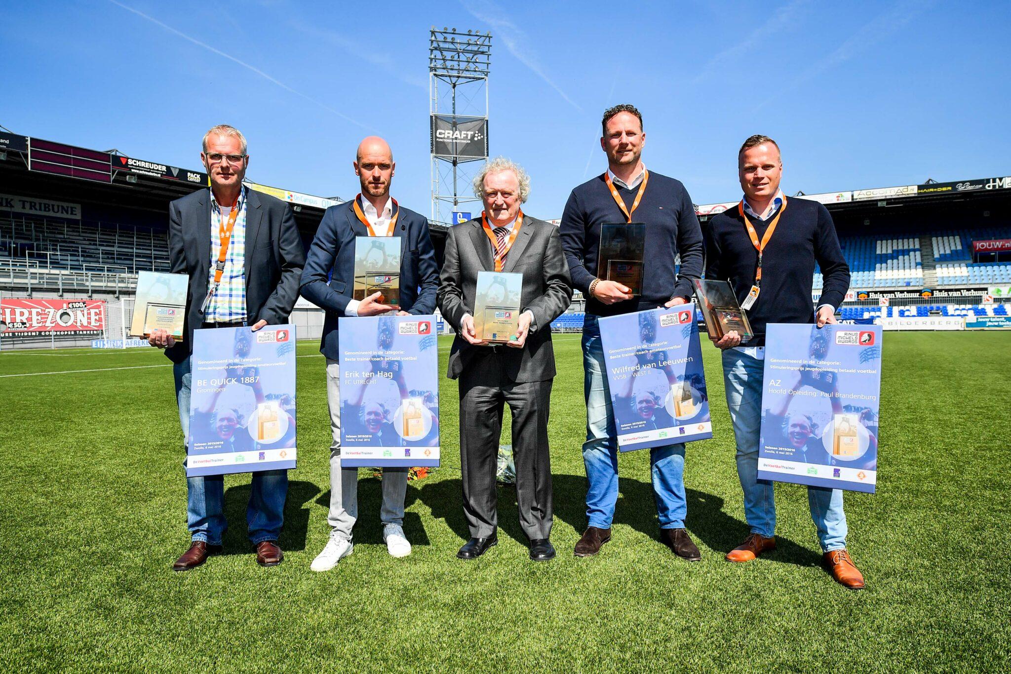 Winnaars Rinus Michels Awards 2016