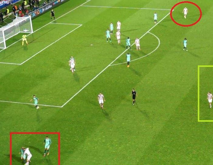 (Bijna) perfecte counter Portugal in 8 stadionbeelden