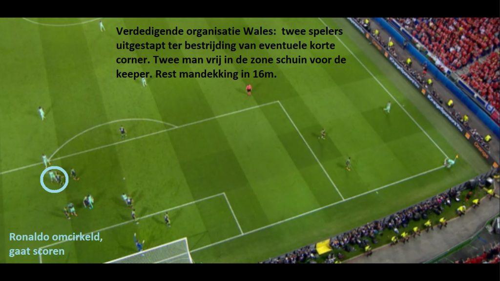 Finale Portugal-Frankrijk beslist door een corner? (video)