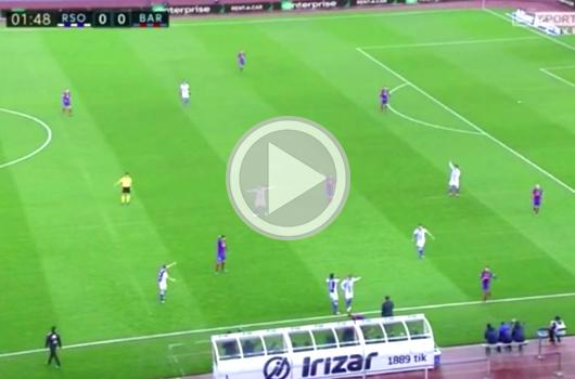Druk op FC Barcelona (video)