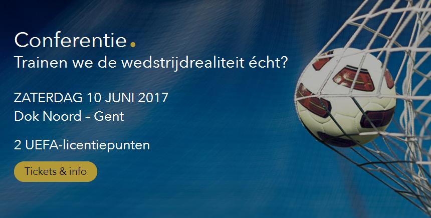 10 juni: trainersconferentie in Gent