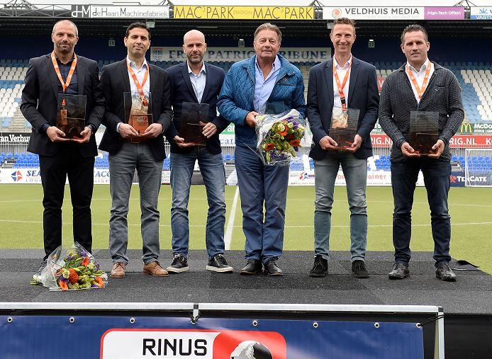 Rinus Michels Awards: Peter Bosz beste coach, Oeuvreprijs voor Co Adriaanse