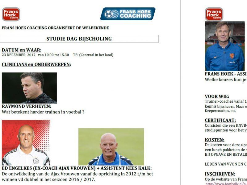 Korting voor VT-abonnees bij Frans Hoek Studiedag (zaterdag 23 december)