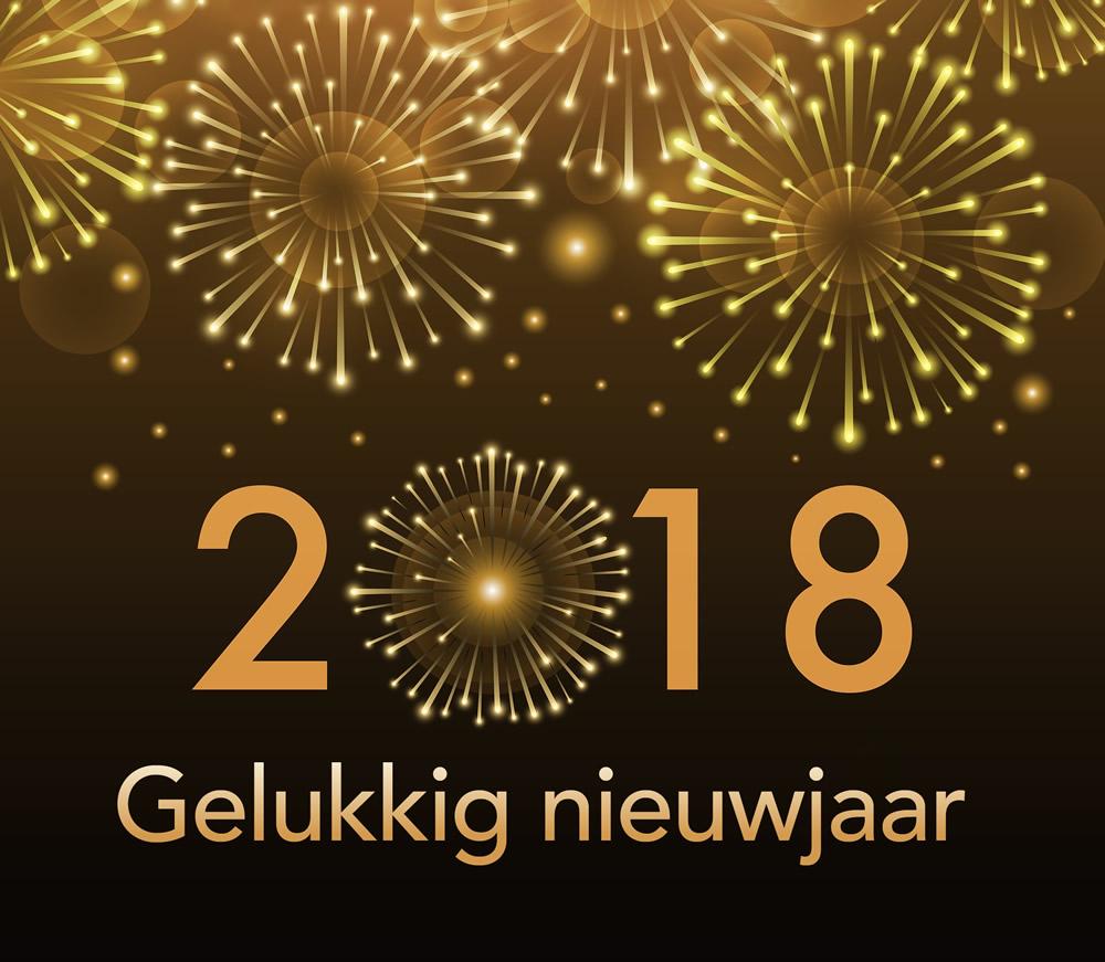 Gelukkig Nieuwjaar gewenst!