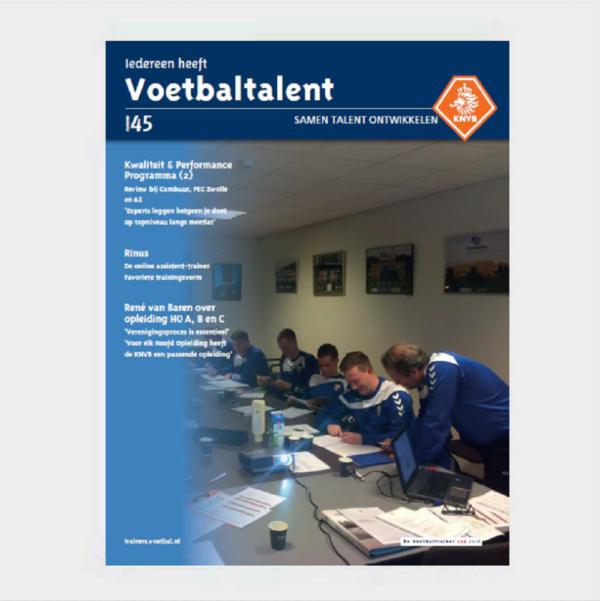 Voetbaltalent (KNVB katern) nr. 45 (eBook)