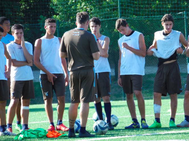 Michel Santoni, nieuwe trainer Almere City, over training geven