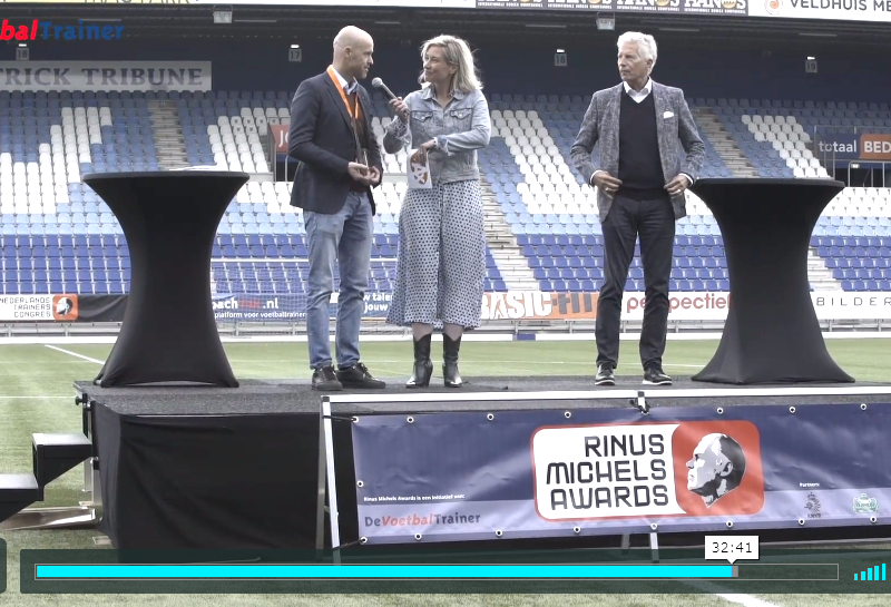 VIDEO | Uitreiking Rinus Michels Awards 2018/19