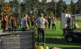 Video- en data-analyse KNVB: golfkar het veld op