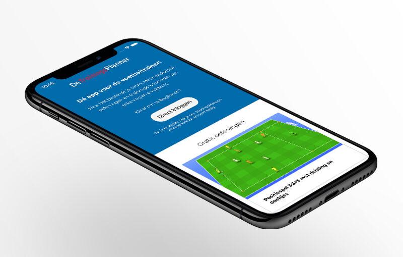 Nieuw! De TrainingsPlanner  nu als app beschikbaar