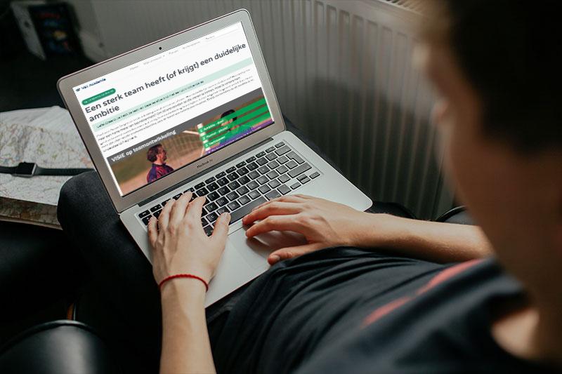 Nieuw! Online cursus over Teamontwikkeling
