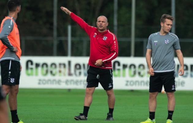 Johnny Jansen stabiliseert sc Heerenveen