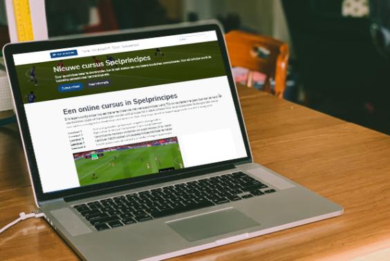 Online cursus Spelprincipes (3 KNVB-studiepunten)
