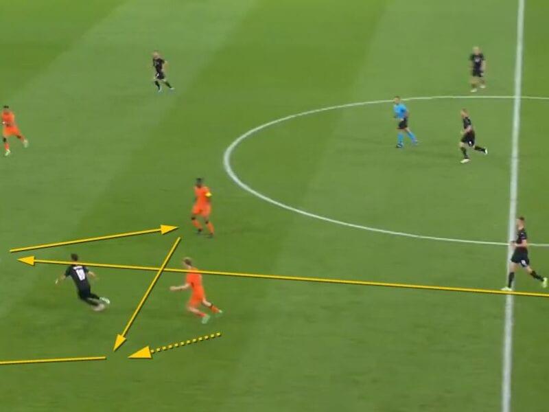 Analyse spelprincipe: derde man (Nederland – Oostenrijk)