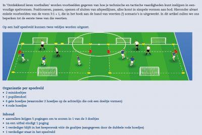 Leren (voetballen) door een spelgecentreerde benadering
