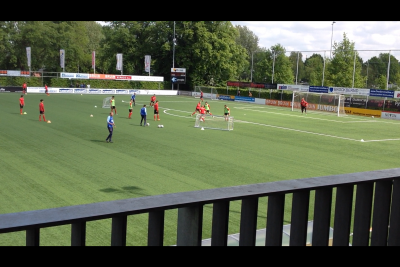 Aanvalsvorm flank (FC Twente onder 19)