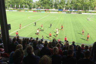 Positiespel PSV onder 16: 2×5:2