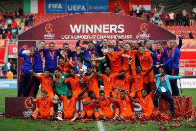 Oranje onder 17 wint Europese titel
