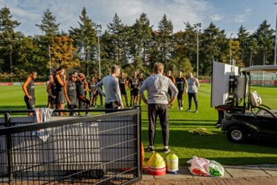 Video- en data-analyse in dienst van de trainer-coaches van Oranje