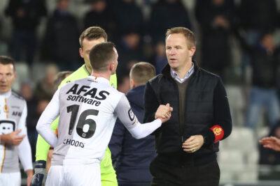 Wouter Vrancken speelt positief voetbal met KVM